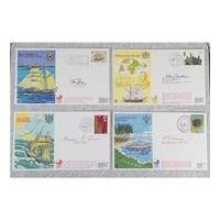 11 Operation Drake First Day Covers - Complete Set Signed John Blashford-Snell etc.