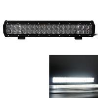 180W 36-LED 15300lm 6000K White Combo Beam Worklight Bar w/ Lens - Black (DC 10~30V)