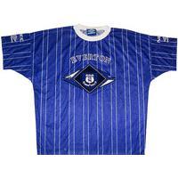 1994-95 Everton Umbro Training Shirt (Excellent) XL
