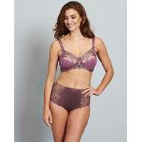 2 Pack Flora Non Wired Grape/Pink Bras