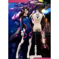 2017 NEW!! Game Over Watch OW D.VA/ Tracer/Mercy Sexy Bodysuit+Armor Custom made