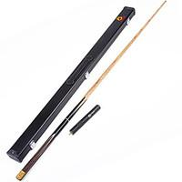 3/4 Jointed Handmade snooker Cue stick O\'min brand victory billiard cueCue Case