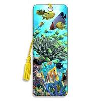 3d Bookmark - Coral Garden - Cheatwell Games