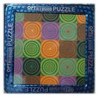 3d Magna Puzzle Optillusion Circles - Cheatwell Games
