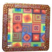 3d Magna Puzzle Optillusion Squares - Cheatwell Games