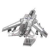 3D Puzzles Metal Puzzles For Gift Building Blocks Model Building Toy Fighter 14 Years Up Toys