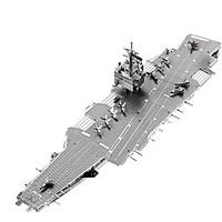3D Puzzles Metal Puzzles For Gift Building Blocks Model Building Toy Warship Aircraft Carrier 14 Years Up Toys