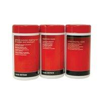5 Star Office Cleaning Wipes Tubs Pack of 3