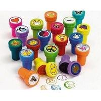 50 Assorted Self Inking Stampers for Kids - Party Bag Fillers | Kids Crafts
