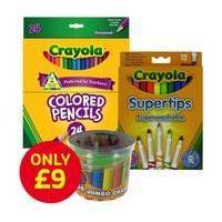 60 Piece Crayola Colouring Bundle