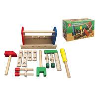£6.99 instead of £17.99 for a wooden tool box toy from Ckent Ltd - save 61%
