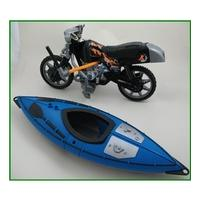 Action Man - canoe and motorcycle 1100TS