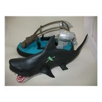 Action Man hovercraft and shark