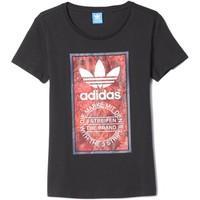 adidas AY6674 T-shirt Women women\'s T shirt in black