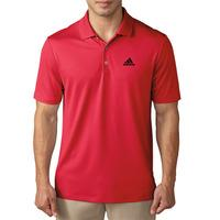 Adidas 2016 Performance Polo - Ray Red