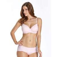 After Eden Pale Pink Balcony Bra