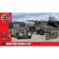 Airfix 1:72 Scale RAF Vehicles Model Kit (66 Pieces)