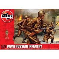 Airfix 1:72 WII Russian Infantry Figure Model Kit