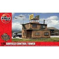Airfix RAF Control Tower 1:76 Scale Series 3 Plastic Diorama Model Kit