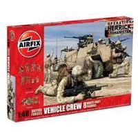 Airfix 1:48 British Forces Vehicle Crew Figure Model Kit
