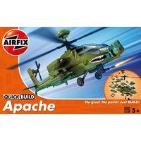 Airfix Quick Build Apache Helicopter Model Kit