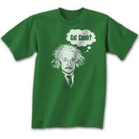 Albert Einstein - Got Comb?