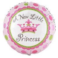 Amscan International Little Princess 18-inch Foil Balloon