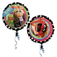 Anagram 18 Inch Circle Foil Balloon - Muppets Group