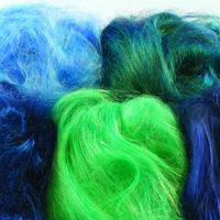 Angelina Fibres Mixed Blue Green Hues