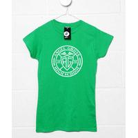 Angel Grove Circular Logo Womens T shirt - Inspired By Power Rangers