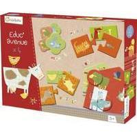 Avenue Mandarine - Box Of Educative Games - Farm (42811o) /games And Puzzles/edu