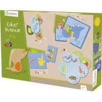 Avenue Mandarine - Box Of Educative Games - Garden (42810o) /games And Puzzles/e