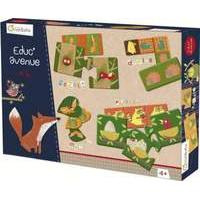 Avenue Mandarine - Box Of Educative Games - Forest (42812o) /games And Puzzles/e