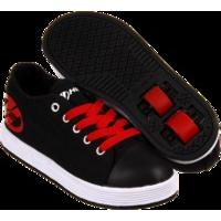 B-Stock Heelys X2 Fresh - Black/Red - UK 2 (Box Damage)