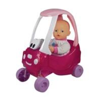 Baby Born Doll and Cosy Coupe Car
