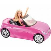 Barbie Glam Convertible With Doll
