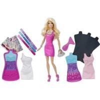 Barbie Fashion Design Plates Doll (X7892)