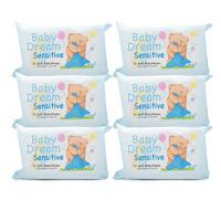 Baby Dream Baby Wipes Sensitive - 6 Pack