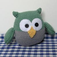 Barney Owl In DK by Amanda Berry - Digital Version