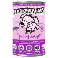 Barking Heads Puppy Days Chicken Wet Dog Food - 6 x 400g