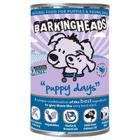 Barking Heads Puppy Days Salmon & Herring Wet Dog Food - Saver Pack: 12 x 400g