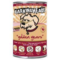 Barking Heads Golden Years Senior Chicken & Salmon Wet Dog Food - Saver Pack: 12 x 400g