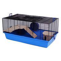 Barney Pet Cage - Blue: 100 x 54 x 45 cm (L x W x H)