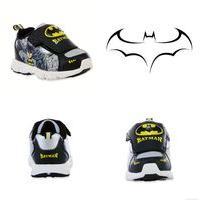 BATMAN DC COMICS Light-Up Sneakers Shoes NWT NIB Sizes 8, 9, 10, 11 or 12 $40