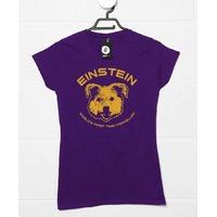 Back To The Future Inspired Womens T Shirt - Einstein First Time Traveller