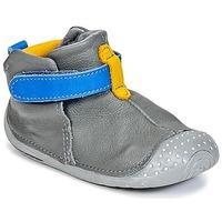 Babybotte ZAK boys\'s Baby Slippers in grey