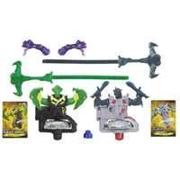 Beyblade Shogun Steel BeyWarriors Dark vs Water Element 2-Pack