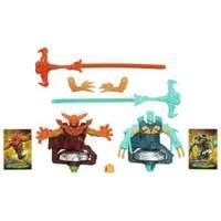 Beyblade Shogun Steel BeyWarriors Fire vs Water Element 2-Pack