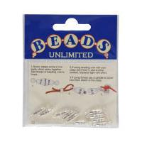 Beads Unlimited Midi Screw Clasp Small Silver Plated