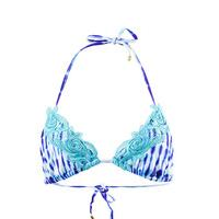 Beach Bunny Blue Triangle top Girl Crush Ultra Violet Tie Dye